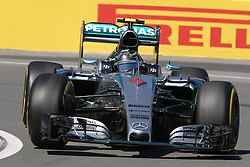 06.06.2015, Circuit Gilles Villeneuve, Montreal, CAN, FIA, Formel 1, Grand Prix von Kanada, Qualifying, im Bild Nico Rosberg (GER) Mercedes AMG F1 W06 // during Qualifyings of the Canadian Formula One Grand Prix at the Circuit Gilles Villeneuve in Montreal, Canada on 2015/06/06. EXPA Pictures © 2015, PhotoCredit: EXPA/ Sutton Images/ Mirko Stange<br /> <br /> *****ATTENTION - for AUT, SLO, CRO, SRB, BIH, MAZ only*****