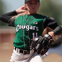 04 July 2010: Melissa Mayeux, Cougars Montigny little league, championnat Minimes, Ronchin, France.
