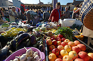 Farmers fruit and vegetable market, Gyor ( Gy?r ) Hungary