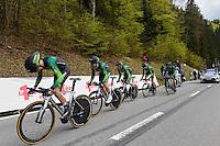 Team Europcar - 28.04.2015 - Tour de Romandie - Etape 01 : Vallee de Joux / Juraparc - CLM Par Equipes<br />Photo : Sirotti / Icon Sport *** Local Caption ***