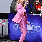 Becca Dudley Arrivers at UK Premiere of Onward at Curzon Street, Mayfair, on 23th February 2020, London, UK.
