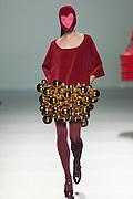 Agatha Ruiz de la Prada at Mercedes-Benz Fashion Week Madrid 2013
