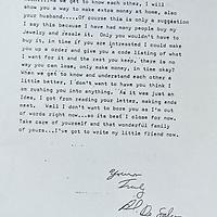 DeSalvo Correspondence