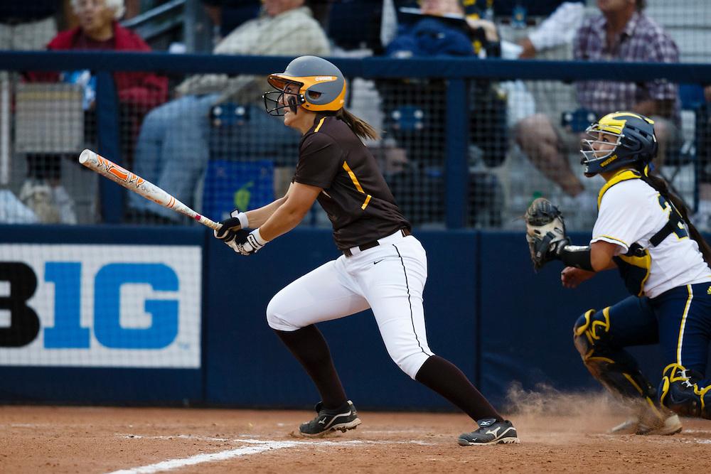 May 17, 2013; Ann Arbor , MI, USA; NCAA Reginal Softball. Mandatory Credit: Rick Osentoski