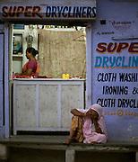 Laundry Shop - Udaipur Rajasthan India 2011
