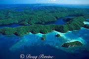 Rock Islands, Palau or Belau, Western Caroline Islands, Micronesia, ( Western Pacific Ocean )