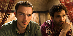 RELEASE DATE: February 3, 2017 TITLE: Collide STUDIO: Open Road Films DIRECTOR: Eran Creevy PLOT: An American backpacker gets involved with a ring of drug smugglers as their driver, though he winds up on the run from his employers across Cologne high-speed Autobahn STARRING: Nicholas Hoult as Casey, Marwan Kenzar (Credit:
