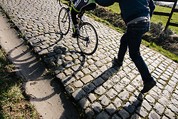 Shadows and cobbles on the Paterberg.