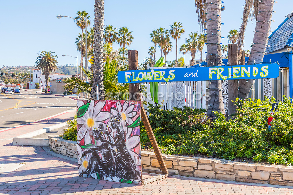 Flowers and Friends Flower Shop on Coast Highway in San Clemente