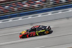 April 27, 2018 - Talladega, Alabama, United States of America - Martin Truex, Jr (78) takes to the track to practice for the GEICO 500 at Talladega Superspeedway in Talladega, Alabama. (Credit Image: © Justin R. Noe Asp Inc/ASP via ZUMA Wire)