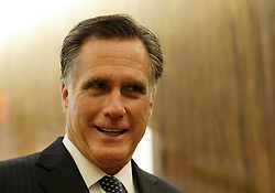 Former Governor of Massachusetts Mitt Romney speaks to the press after a dinner with U.S. President-elect Donald Trump at Jean Georges Restaurant on November 29, 2016 in New York City. U.S. President-elect Donald Trump spent the afternoon holding meetings at Trump Tower as he continues to fill in key positions in his new administration. Photo by John Angelillo/UPI
