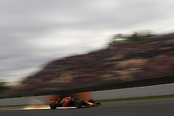 May 11, 2019 - Barcelona, Spain - Max Verstappen of Netherlands driving the (33) Aston Martin Red Bull Racing RB15 during qualifying for the F1 Grand Prix of Spain at Circuit de Barcelona-Catalunya on May 11, 2019 in Barcelona, Spain. (Credit Image: © Jose Breton/NurPhoto via ZUMA Press)