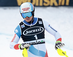 29.12.2017, Stelvio, Bormio, ITA, FIS Weltcup, Ski Alpin, alpine Kombination, Slalom, Herren, im Bild Mauro Caviezel (SUI) // Mauro Caviezel of Switzerland during the Slalom competition for the men's Alpine combination of FIS Ski Alpine World Cup at the Stelvio course, Bormio, Italy on 2017/12/29. EXPA Pictures © 2017, PhotoCredit: EXPA/ Johann Groder