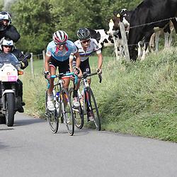 04-09-2016: Wielrennen: Ladies Tour: Valkenburg<br />VALKENBURG (NED) wielrennen  <br />Lizzy Armitstead, Kasia Niewiadoma