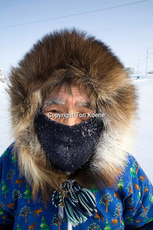 portrait of an Inuit