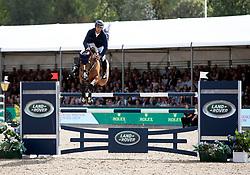 Switzerland's Steve Guerdat riding Bianca wins the Rolex Grand Prix during the Royal Windsor Horse Show at Windsor Castle, Berkshire.