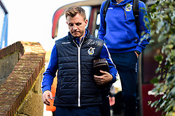 Tony Craig of Bristol Rovers arrives at Roots Hall prior to kick off  - Mandatory by-line: Ryan Hiscott/JMP - 02/02/2019 - FOOTBALL - Roots Hall - Southend-on-Sea, England - Southend United v Bristol Rovers - Sky Bet League One
