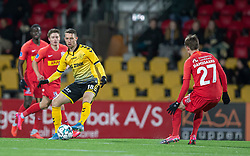 Louka Prip (AC Horsens) under kampen i 3F Superligaen mellem FC Nordsjælland og AC Horsens den 19. februar 2020 i Right to Dream Park, Farum (Foto: Claus Birch).
