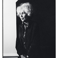 Nawal El Saadawi. b1931. Egyptian novelist,psychiatrist, lecturer and writer. Has written many books on the plight of women in Islam. Awards include International Writer of the Year 2003. Books (written in Arabic) include 'Memoirs of a Woman Doctor', 'The death of the Only Man on Earth', 'Love in the Kingdom of Oil'. She has also written plays and short stories<br /> <br /> Photograph by George Hallett/Writer Pictures<br /> <br /> NO AGENCY, DIRECT SALES ONLY