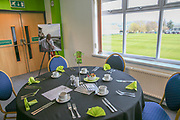VIP dining during the EFL Sky Bet League 2 match between Forest Green Rovers and Milton Keynes Dons at the New Lawn, Forest Green, United Kingdom on 30 March 2019.