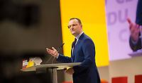 DEU, Deutschland, Germany, Hamburg, 07.12.2018: Bundesgesundheitsminister Jens Spahn (CDU) beim Bundesparteitag der CDU in der Messe Hamburg. Spahn kandidierte für das Amt des CDU-Vorsitzenden.