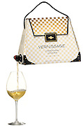 wine in a handbag<br /> Some wine snobs still think wine in a box is just too tacky to be entertained, but this company has decided to strike back by making wine in a designer handbag. Its still wine in a box, but its not far more stylish. It comes from a company in Sweden called Vernissage. It said: The Bag-in-Bag wine Vernissage has taken wine-lovers by storm in Sweden as well as internationally. Behind the success are Sofia Blomberg, the creator of the unique packaging design, and Takis Soldatos, the creator of the packaging contents. The results are elegant design, and a characteristically typical mixture of French Chardonnay and Viognier produced in one of Northern Europes most modern wineries, Nordic Sea Winery in Simrishamn. The thought behind Vernissage is a playful approach the curious and modern wine consumer. At the same time, a womans touch has propelled the Bag-in-Bag wine from the practical to the elegant.<br /> ©Exclusivepix