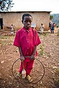 Bukavu, South Kivu, Rd Congo, 10 year old orphin, he never went to school. August 2010.