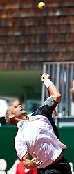 04.08.2010, Sportpark, Kitzbühel, AUT, ATP Challenger, Austrian Open 2010, im Bild Thomas Muster (AUT), EXPA Pictures © 2010, PhotoCredit: EXPA/ J. Feichter / SPORTIDA PHOTO AGENCY