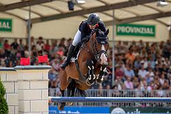 BRINKMANN Markus (GER), PIKEUR QUICK FIRE<br /> Münster - Turnier der Sieger 2019<br /> Preis der SPARKASSE MÜNSTERLAND OST<br /> CSI4* - Int. Jumping competition with one jump-off (1.50 m) <br /> Finale Mittlere Tour<br /> 04. August 2019<br /> © www.sportfotos-lafrentz.de/Stefan Lafrentz