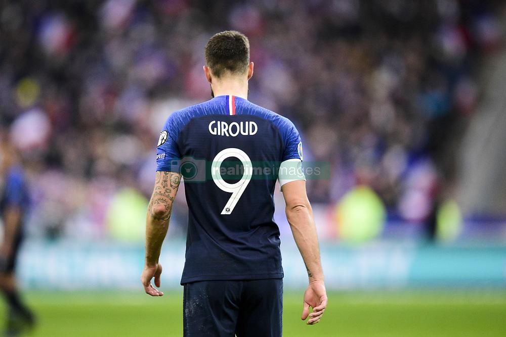 November 14, 2019, Paris, France, France: Olivier Giroud  (Credit Image: © Panoramic via ZUMA Press)