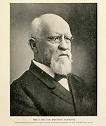 The Late Jan Hendrik Hofmeyr From the Book '  Britain across the seas : Africa : a history and description of the British Empire in Africa ' by Johnston, Harry Hamilton, Sir, 1858-1927 Published in 1910 in London by National Society's Depository