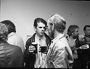 Murphy's Cork Folk Festival..1986..19.08.1986..08.19.1986..19th August 1986..A veritable five day feast of folk music will take place in Cork from Sept.,11th to 15th,when lindisfarne, Fairport Convention and Billy bragg head the bill in the Murphy sponsored Cork Folk Festival..In all there will be 77 acts taking part, these include Mary Black,Declan Sinnott,Andy Irvine,Paddy Keenan,Muzsikas (a Hungarian Folk group), The Stargazers,Hotfoot and the Tulla Ceili Band...Unfortunatly we do not have the caption sheet outlining the names of the people pictured here, If you know who they are why not contact us at www.irishphotoarchive.ie or E-mail us at irishphotoarchive@gmail.com