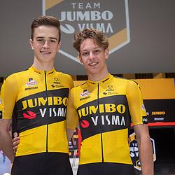 10-12-2019: Wielrennen: Teampresentatie Jumbo Visma: Amsterdam<br />Rick Pluimers, Lars Boven