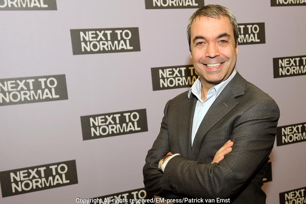 Perspresentatie Next to Normal - de musical in de Dutch Studio's Amsterdam.<br /> <br /> Op de foto:  Wim van den Driessche