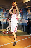 Yao Ming Wax figure unveiled at Madame Tussaud New York in NYC