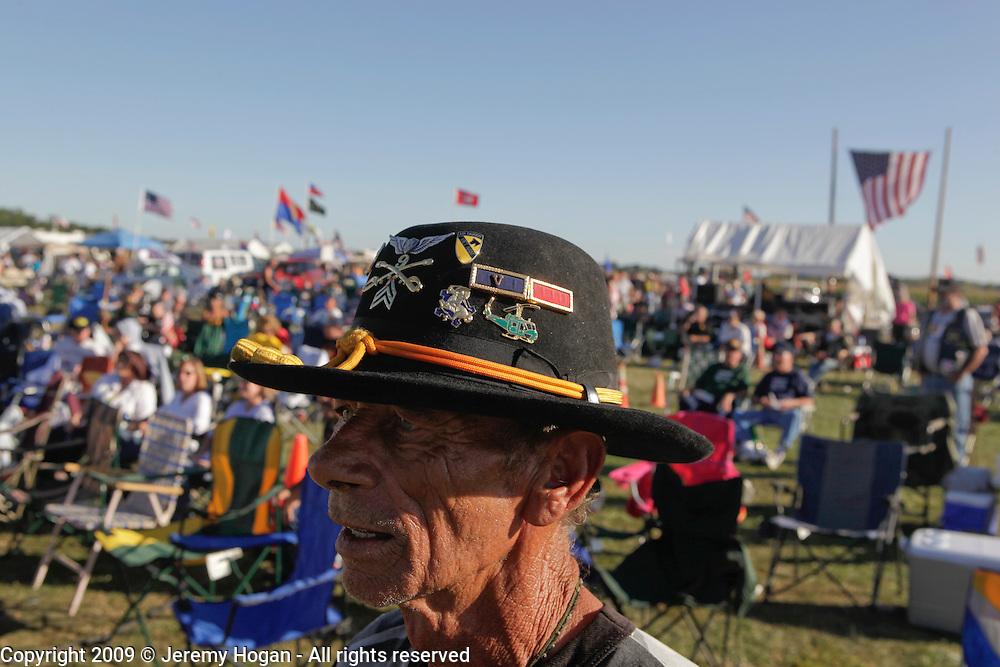 Vietnam Veteran Jerry Hogan, B Troop, 1st Squadron, 9th Cavalry in Kokomo, Indiana for the 2009 reunion. Vietnam Veterans gather in Kokomo, Indiana for the 2009 reunion.