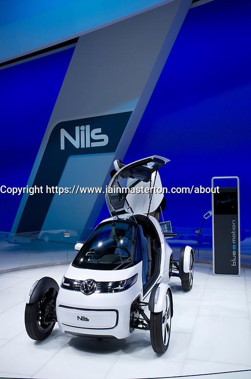 Volkswagen NILS Frankfurt Motor Show or IAA 2011 in Germany
