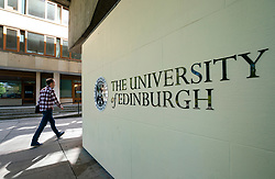Campus at University of Edinburgh in Old Town , Scotland, UK