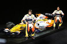 2008 Renault Launch, January Paris