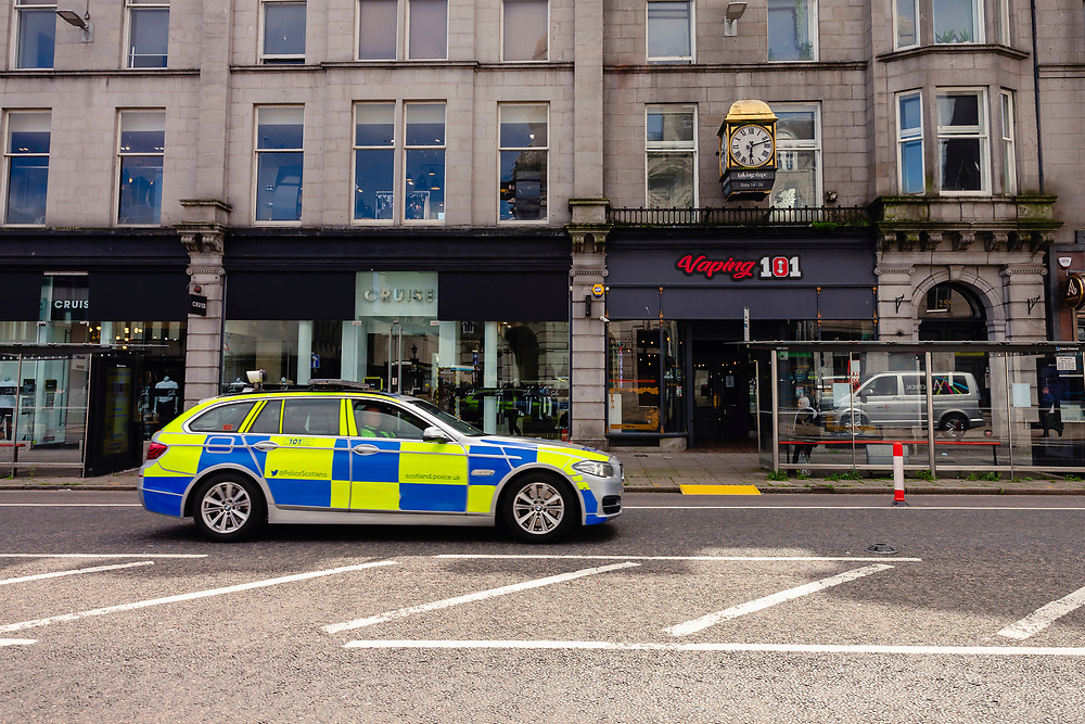 ABERDEEN, SCOTLAND, AUGUST 6 2020: Aberdeen is back in lockdown after a rise in Covid-cases. <br /> <br /> <br /> (Photo: Ross Johnston/Newsline Media)