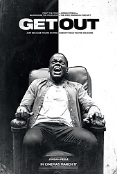 December 11, 2017 - FILE - Golden Globes 2018 Nominees - Nominated for Best Actor, Comedy - Daniel Kaluuya, Get Out - RELEASE DATE: February 17, 2017 TITLE: Get Out STUDIO: Universal Pictures DIRECTOR: Jordan Peele PLOT: It's time for a young African American to meet with his white girlfriend's parents for a weekend in their secluded estate in the woods, but before long, the friendly and polite ambience will give way to a nightmare. STARRING: DANIEL KALUUYA Poster Art. (Credit Image: © Universal Pictures/Entertainment Pictures/ZUMAPRESS.com)
