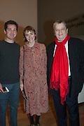 MATT TIERNEY; EVA ROSENTHAL; SIR NORMAN ROSENTHAL, Manet: Portraying Life,  Royal Academy, Burlington House, Piccadilly. London. 22 January 2012