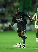 Photo Peter Spurrier<br /> 14/09/2002<br /> 2002 Real Betis vs Real Madrid  - Spanish Liga 1<br /> Real Madrid's - Claude Makelele,