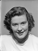 9/9/1952<br /> 9 September 1952<br /> <br /> Photo of Miss Betty Cronin