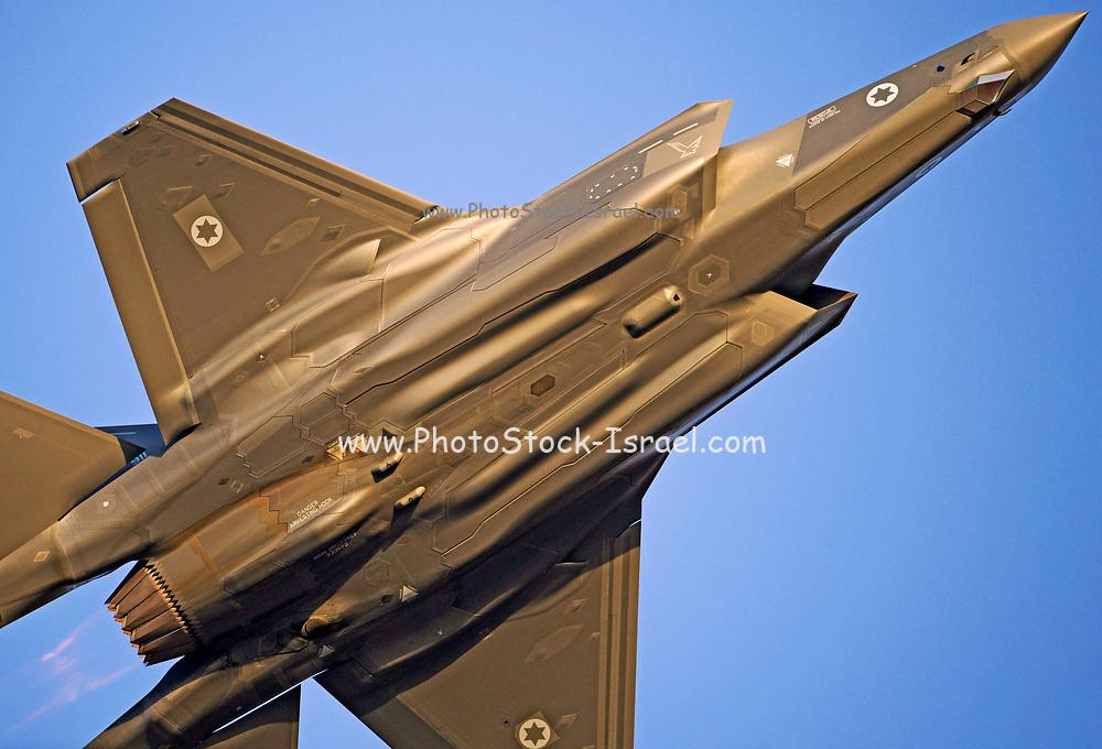 Israeli Air force (IAF) F-15 (Baz) Fighter jet in flight