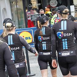 14-04-2021: Wielrennen: Brabantse Pijl women: Overijse: Team DSM