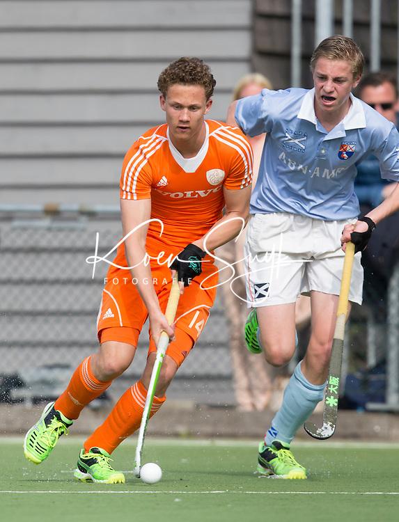 AMSTELVEEN - TEXAS BUKKENS. Oefenwedstrijd tussen het Nederlands Team Jongens B tegen Bloemendaal A1. COPYRIGHT KOEN SUYK