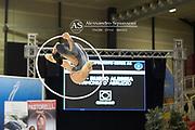Alessia Russo from Armonia D'Abruzzo team during the Italian Rhythmic Gymnastics Championship in Padova, 25 November 2017.