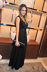 JESSICA ALBA at the Salvatore Ferragamo Old Bond Street Boutique Store Launch on 5th December 2012.