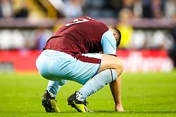 Sam Vokes of Burnley cuts a dejected figure - Mandatory by-line: Robbie Stephenson/JMP - 30/08/2018 - FOOTBALL - Turf Moor - Burnley, England - Burnley v Olympiakos - UEFA Europa League Play-offs second leg